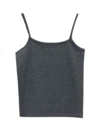 Geo, awesome cropped straps Sleeveless