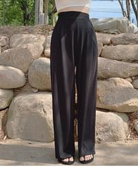 Kiro Ribbed wide trousers