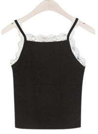 Celine Lace Sleeveless Layered Effect: D