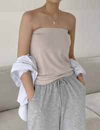 Basic Spandex Top *Combined Two Way Skirt*