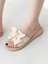 Butterfly Ribbon Point Slippers 10989 ♡1st Sold Out♡