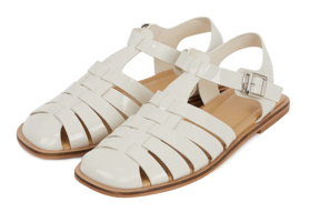 Ether patent-strap sandals