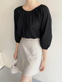 Girls ruched blouse