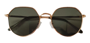 Luther Gold Sunglasses