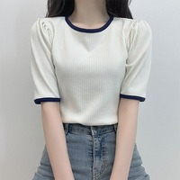 Love Color Puff Short Sleeve T-Shirt