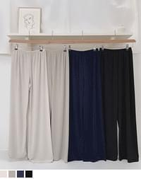 Its cooling wide pants