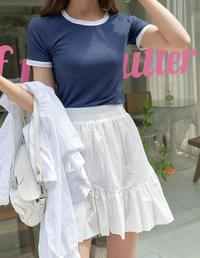 hitch color matching short sleeve T-shirt
