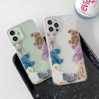real doll friends frame iphone case