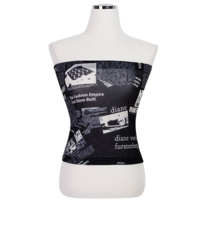 Paper Wafer Tube Top