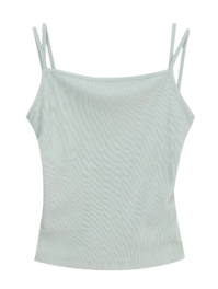 carrot two-strap camisole