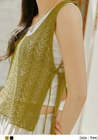 See-Through Knit Vest