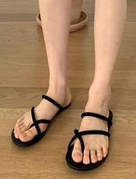 suede point toe blooper