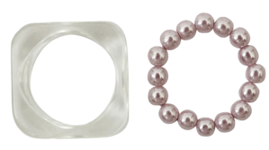 Berry pearl set ring