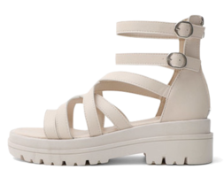 Glady Style Whole Heel Back Zip Sandals 10975 ♡6th Sold Out♡