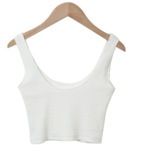 All Day Ribbed Crop Sleeveless