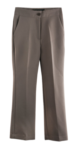 155cm fit for breaking through the ceiling, small 8 pieces high Flared date slacks