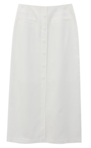 lily button skirt