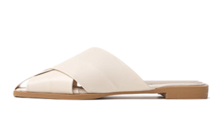 Isshu wide strap covering blower slippers 10936