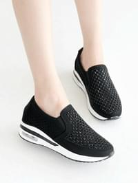 Tone-up height air slip-on 5cm