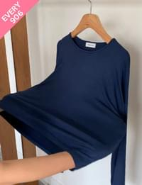 How are you cropped long sleeve tee