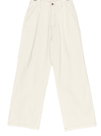 Natural Banding Wide Pants Big Size 26-38 Inch