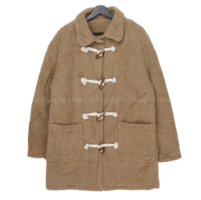 Big size 55-88 puffy double loose Loose-fit coat