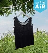 Cool Daily Real Linen Sleeveless #109106