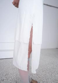 double layer H skirt
