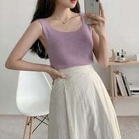 Brie Knitwear Square Sleeveless