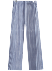 Striped Pleated Pants