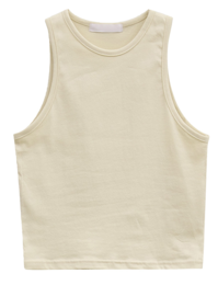 Planned Cotton Stretch Tank Top
