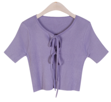 Planned two-ribbon Ribbed bolero layering can be used in various ways :D