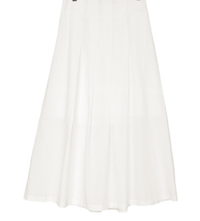 Big Size 26-38 Inch Vince Pleated Long Skirt