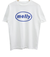 Melly Lettering Short Sleeve Tee