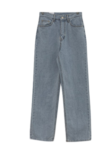 Another, I'm Spandex Wide Straight Denim Pants