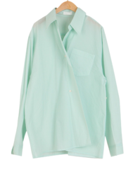 Cent wrap two-way shirt
