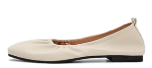 Isshu Comfort Shirring Banding Flat Shoes Loafers 10698 ♡5th Sold Out♡