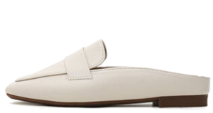 Isshu square toe nose modern basic blower slippers 10680 ♡29 sold out♡