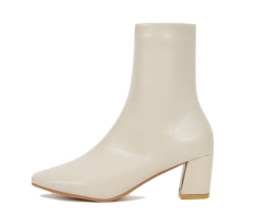Isshu Split stitch middle heel ankle boots 10604 ♡ first edition ♡