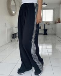 taping summer wide pants