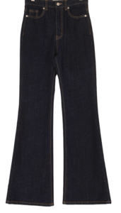 Deal Raw Flared pants