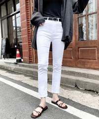 Victory Summer Cotton Slim Date Pants - Ivory S, Black S/M Same Day Shipping