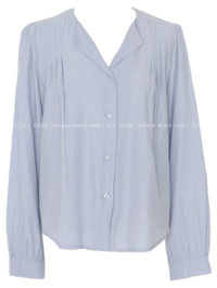 Pure D*Unfooted Pintucked Blouse