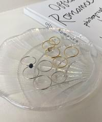 stonic layered rings - 2color