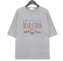 Graphic Lettering Loose Fit T-Shirt