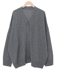 Someday Rams Wool Over Fit Cardigan