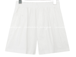 Gathered Accent Banded Shorts