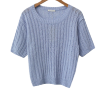 Linen Stone Cable Knitwear