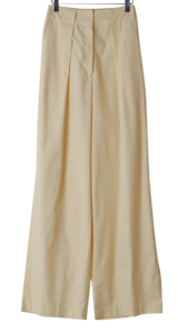 Bender cotton wide trousers
