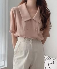Yves buttoned blouse